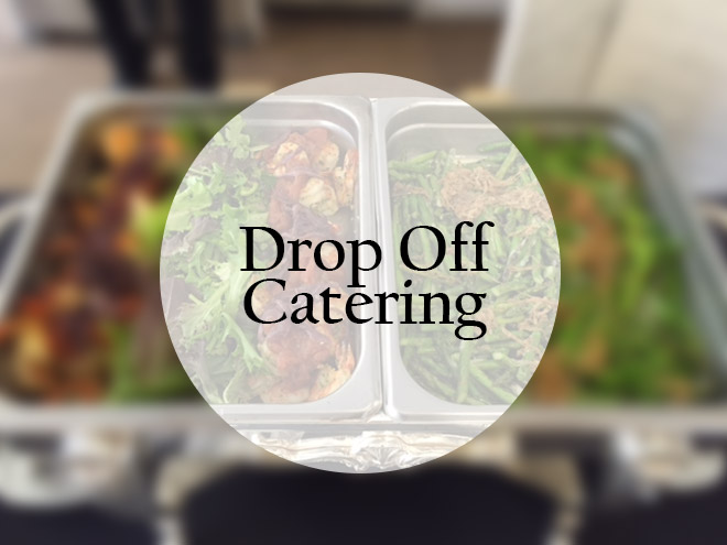 drop off catering